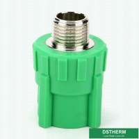 Buy cheap Good Impact BSPT Male Threaded Ppr Pipe Fittings from wholesalers