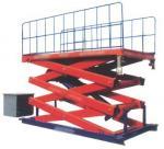 Buy cheap Adjustment automobile SJG 0.9 900 kg Hydraulic Lifting Elevating Work Platform from wholesalers