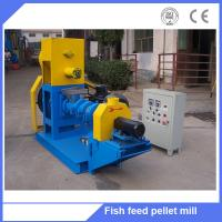 Buy cheap floating fish feed making machine/floating fish feed production line/fish feed pellet machine from wholesalers