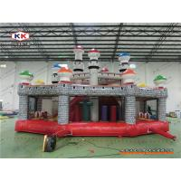 Buy cheap Advertising Inflatable Bouncer Mushroom Bouncing Combo Playground With CE Air Blower from wholesalers