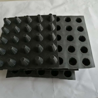 Buy cheap Roof Systems Plastic Hdpe Dimple Drainage Board Sheet from wholesalers