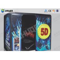 Buy cheap Electronic Red / Black 5D Movie Theater Kino With More Than 500 Pecice Films product