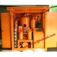 Buy cheap Fully Automatic Transformer Oil Filtration Device,Cable Oil Degassing,Shelter cover Type Transformer Oil Purifier from wholesalers