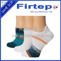 Buy cheap Fashion design cotton and spandex breathable custom crew athletic sock from wholesalers