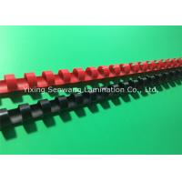 Buy cheap Colorful 1/2 Inch Wire Binding Combs 100Pcs / Box With Flexible Teeth from wholesalers