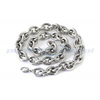 China Custom Specialty Hardware Fasteners , Welded SUS316 Stainless Steel Twisted Link Chain DIN 764 on sale