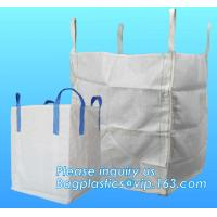 Buy cheap U-type competitive price 100% PP breathable bulk big woven fibc bags mesh jumbo bag for firewood potato, BAGPLASTICS, from wholesalers