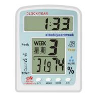 Buy cheap 1.5V (AA size) x1 Hygro KT-201 Digital Thermomete, 2 Modes of Time Display is 12h / 24h product