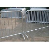 Buy cheap Traffic outdoor crowd control barriers 6 feet crowd safety barriers for road product
