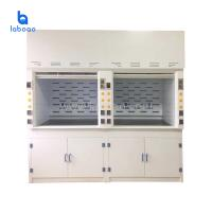 Buy cheap PP anti-corrosion fume hood cabinet machine instrument laboratory product