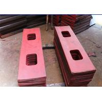 Buy cheap Casting Jaw Liner Side Plate ,  Accurate Dimensions Crusher Wearing Plates from wholesalers