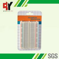Buy cheap 400 Tie - Points Prototyping Breadboard , Small Simple Electronics Projects On Breadboard from wholesalers