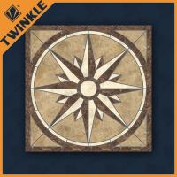 Buy cheap Mixed Color Travertine / Marble Floor Medallions For Home Decorations Tiles from wholesalers