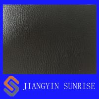 Buy cheap Health Black PU Sofa Synthetic Leather 0.8mm Thickness Approved EN from wholesalers