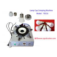 Buy cheap Lamp Cap Hole Crimping Machine For E27 B22 E22  Cap  Crimping One Year Warranty from wholesalers