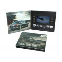 Buy cheap Print Your Artwork LCD Video Brochure Video Greeting Card with Memory of 128MB to 8GB to Play Your Videos product