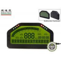 Buy cheap Digital Tachometer Gauge / Autometer Fuel Gauge Combination Display For OBDII Cars from wholesalers