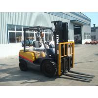 Sit Down Gasoline  Forklift Truck 3 .5 Ton Cabin / Air - Conditioner Optional