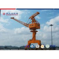 Buy cheap Travelling Slewing Crane , Jib Portal Crane With Green Noise Insulation Materials from wholesalers