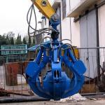 Buy cheap metal scrap excavator grab bucket from wholesalers