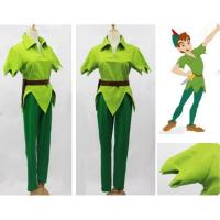 Buy cheap Prince costumes Wholesale Custom Made Peter Pan Green Costume Outfit Cosplay For Party from wholesalers