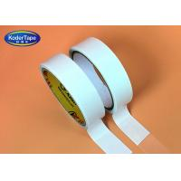 Buy cheap Hotmelt Adhesive Double Sided Tissue Tape 80 Degree High Temperature Resistant from wholesalers