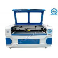 Buy cheap Dual Laser Head Co2 Textile Laser Cutting Machine With CCD Camera from wholesalers