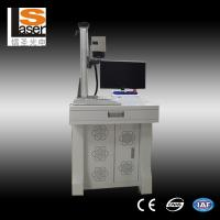 Buy cheap Small Scale Pocket Fiber Laser Marking Equipment / Laser Engraving Machine For Metal from wholesalers
