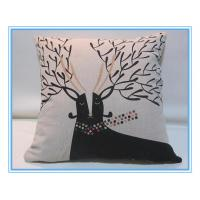 Buy cheap custom printed pillow cover from china from wholesalers