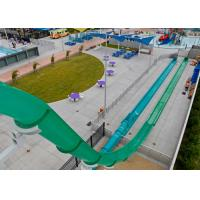 Buy cheap Fiberglass Material High Speed Slide Customized Size For Amusement Park from wholesalers
