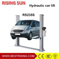 Buy cheap Floor plate design 2 post car lift for car workshop from wholesalers