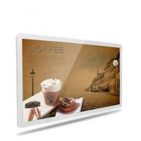 Buy cheap Shockproof Wall Mounted Digital Signage 49 Inch Support IR Remote Control product