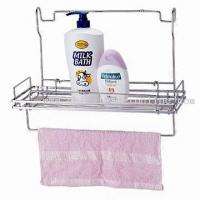 Buy cheap chrome plated bathroom wire rack from wholesalers