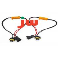 Buy cheap Red Trailer Hitch Wiring Harness , Flat Plug Trailer Wiring Kit 15A Rated Current from wholesalers