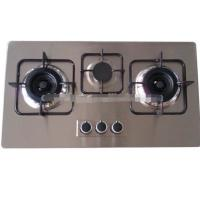 Buy cheap Tempered glass 3 powerful&durable burner built-in gas burner/gas cooktop from wholesalers