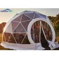 Buy cheap 6m Galvanized Geodesic Dome Steel Sphere Tent Round For Camping from wholesalers