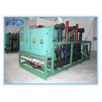 Buy cheap Air cooled three screw compressor rack high temperature condensing unit for blast freezer product