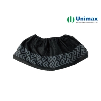 Buy cheap Black 35 Gsm Disposable Non Woven Shoe Cover from wholesalers