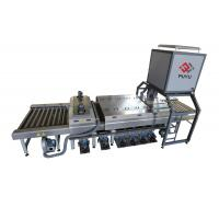 Buy cheap PLC Glass Washer And Drying Machine With Energy Saving Switch from wholesalers