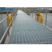 Buy cheap Smooth Steel Bar Grating Durable Safety Optimal Drainage Design Durable from wholesalers