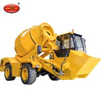 Buy cheap Building Construction Machinery Mobile Concrete Mixer 4 Cubic Meter Self Loading Concrete Mixer Truck from wholesalers