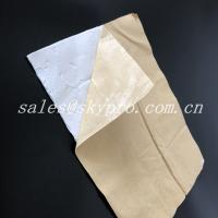 Buy cheap Self Adhesive Rubber Insulation Sheet Cover Aluminum Foil Butyl Rubber product