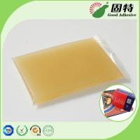 Buy cheap Gelatin resin Amber color Block solid Strongest Wood Solid Animal Jelly Glue Light Amber Color High Solid Content from wholesalers