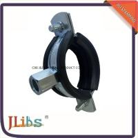 Buy cheap Cast Iron Clamps Carbon Steel Kinds Of Scaffolding Pipe Clamp With Rubber from wholesalers