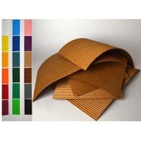 Buy cheap Colorful Corrugated Cardboard Sheet For Carton Box Recycled Materials from wholesalers