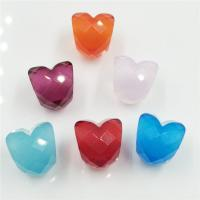 Buy cheap Faceted Glass Beads Fit for DIY European Charm Shape Of Love from wholesalers