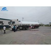 Buy cheap 50000 Liter 50m3 Tank Semi Trailer High Capacity With 3-8 Comdepartment from wholesalers