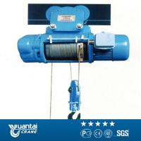 Buy cheap Yuantai large capacity model cd1/md1 wire rope electric hoist from wholesalers