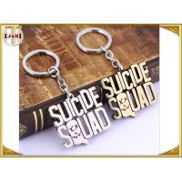 Buy cheap Various Design Personalised Metal Letter Keyrings , Personalized Name Keychains For Him from wholesalers