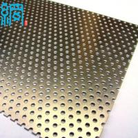 Buy cheap Decorative metal perforated sheet from wholesalers